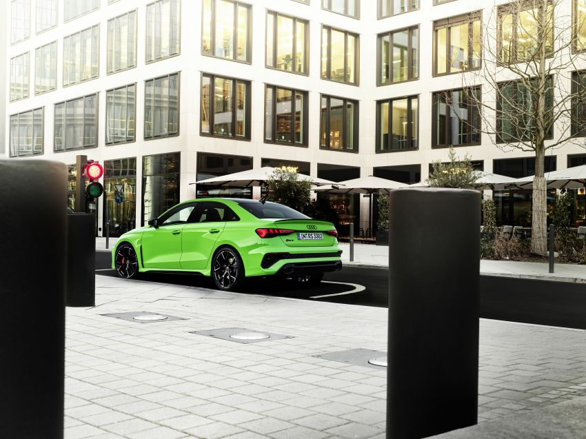 2022 Audi RS3 Sportback and RS3 Sedan debut – 400 PS/500 Nm 2.5 litre TFSI, Torque Splitter rear axle Image #1320883