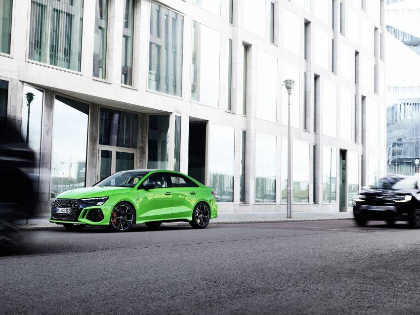 2022 Audi RS3 Sportback and RS3 Sedan debut – 400 PS/500 Nm 2.5 litre TFSI, Torque Splitter rear axle Image #1320884