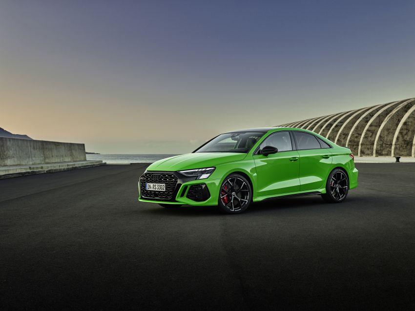 2022 Audi RS3 Sportback and RS3 Sedan debut – 400 PS/500 Nm 2.5 litre TFSI, Torque Splitter rear axle Image #1320885