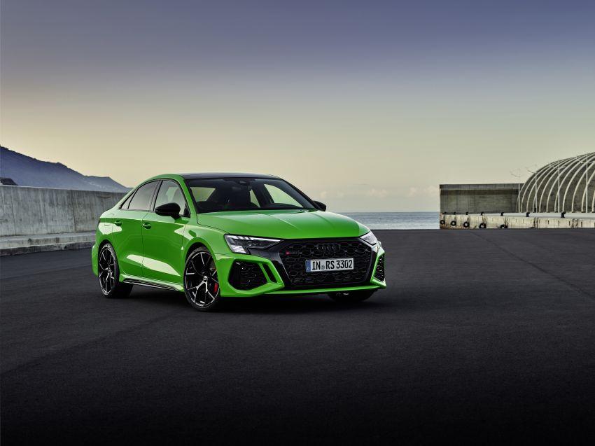 2022 Audi RS3 Sportback and RS3 Sedan debut – 400 PS/500 Nm 2.5 litre TFSI, Torque Splitter rear axle Image #1320887