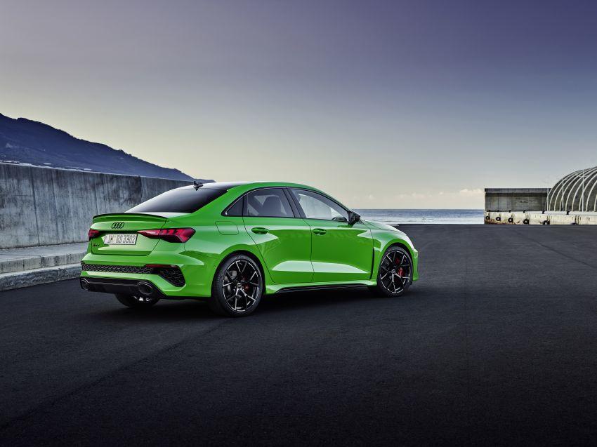 2022 Audi RS3 Sportback and RS3 Sedan debut – 400 PS/500 Nm 2.5 litre TFSI, Torque Splitter rear axle Image #1320890