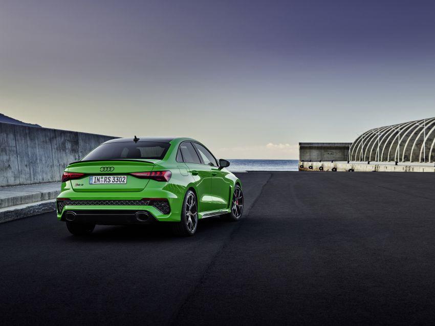 2022 Audi RS3 Sportback and RS3 Sedan debut – 400 PS/500 Nm 2.5 litre TFSI, Torque Splitter rear axle Image #1320891
