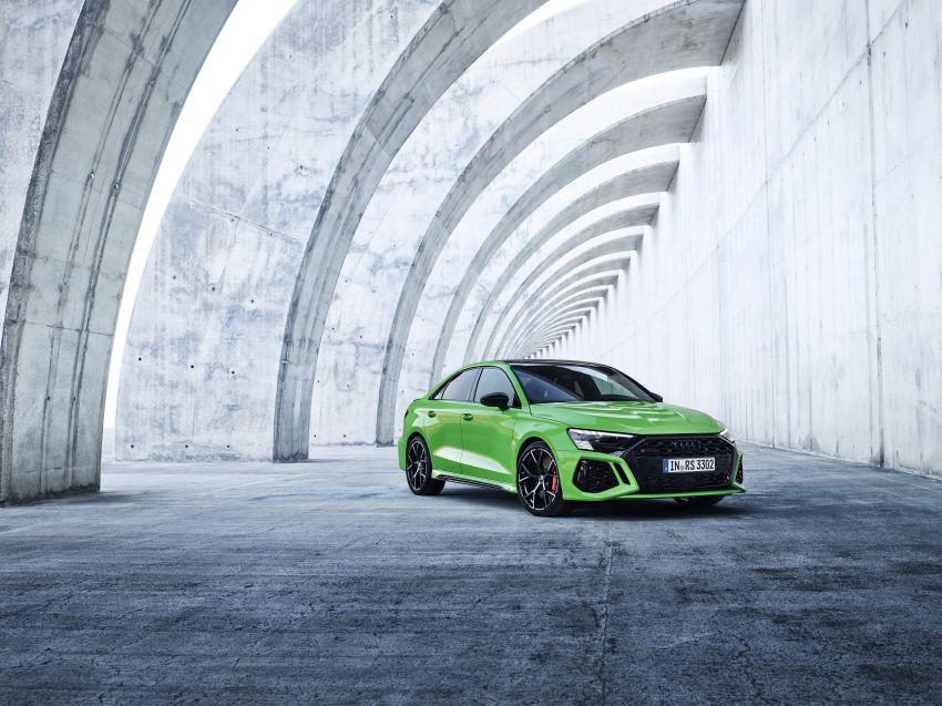 2022 Audi RS3 Sportback and RS3 Sedan debut – 400 PS/500 Nm 2.5 litre TFSI, Torque Splitter rear axle Image #1320893
