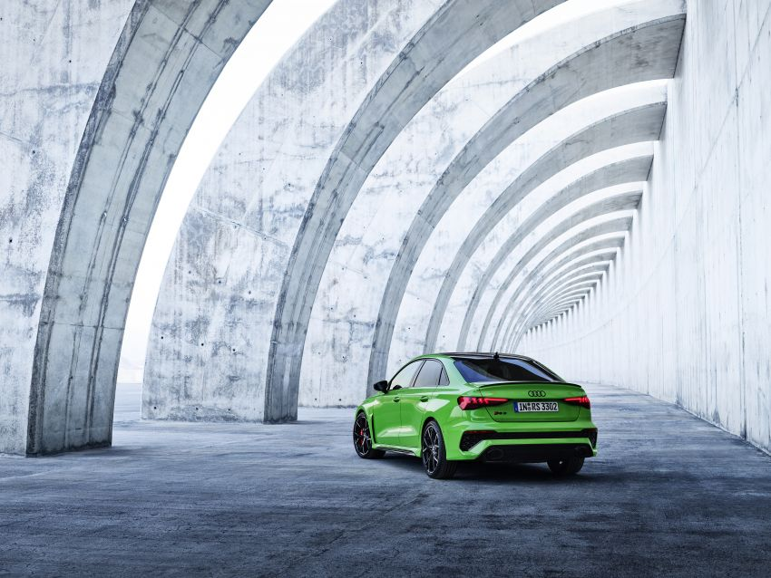 2022 Audi RS3 Sportback and RS3 Sedan debut – 400 PS/500 Nm 2.5 litre TFSI, Torque Splitter rear axle Image #1320894