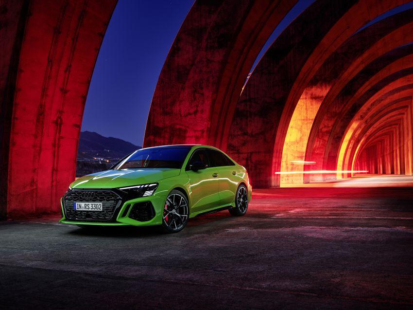 2022 Audi RS3 Sportback and RS3 Sedan debut – 400 PS/500 Nm 2.5 litre TFSI, Torque Splitter rear axle Image #1320896