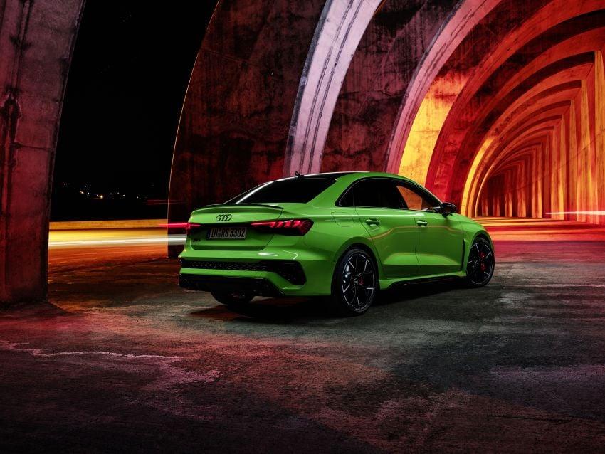 2022 Audi RS3 Sportback and RS3 Sedan debut – 400 PS/500 Nm 2.5 litre TFSI, Torque Splitter rear axle Image #1320897