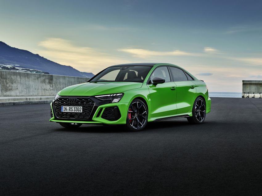 2022 Audi RS3 Sportback and RS3 Sedan debut – 400 PS/500 Nm 2.5 litre TFSI, Torque Splitter rear axle Image #1320898