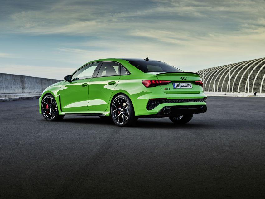 2022 Audi RS3 Sportback and RS3 Sedan debut – 400 PS/500 Nm 2.5 litre TFSI, Torque Splitter rear axle Image #1320899