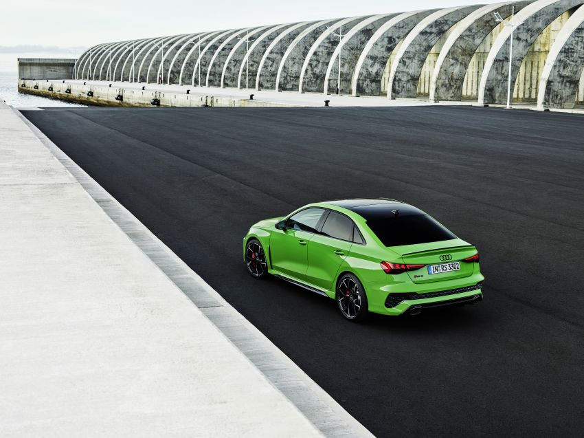 2022 Audi RS3 Sportback and RS3 Sedan debut – 400 PS/500 Nm 2.5 litre TFSI, Torque Splitter rear axle Image #1320900