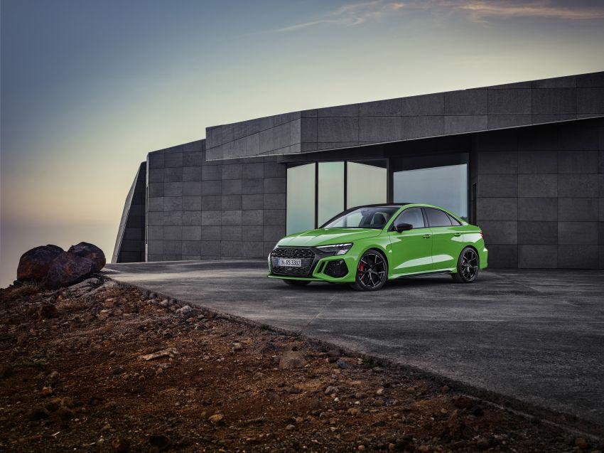 2022 Audi RS3 Sportback and RS3 Sedan debut – 400 PS/500 Nm 2.5 litre TFSI, Torque Splitter rear axle Image #1320903