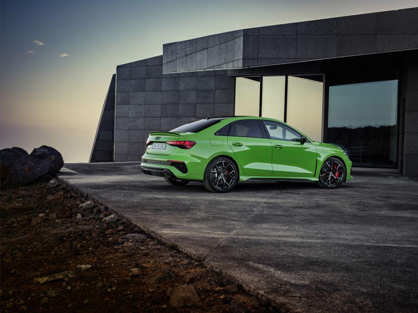 2022 Audi RS3 Sportback and RS3 Sedan debut – 400 PS/500 Nm 2.5 litre TFSI, Torque Splitter rear axle Image #1320904