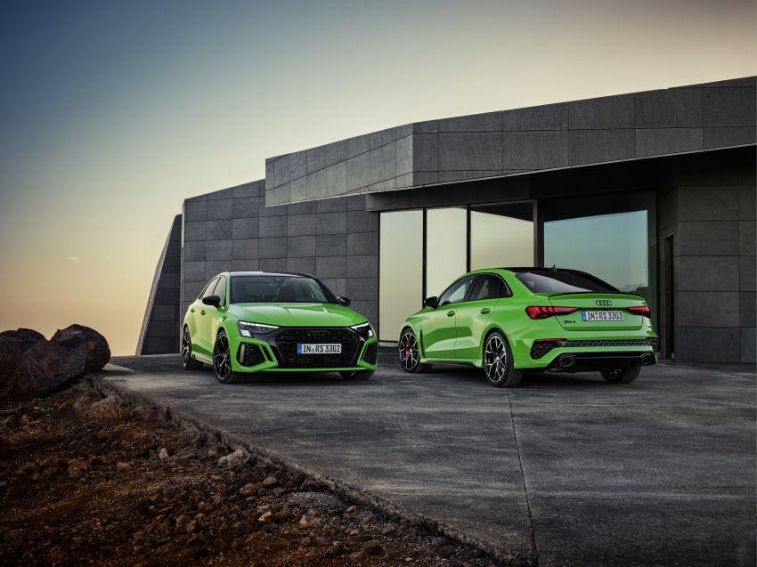 2022 Audi RS3 Sportback and RS3 Sedan debut – 400 PS/500 Nm 2.5 litre TFSI, Torque Splitter rear axle Image #1320905