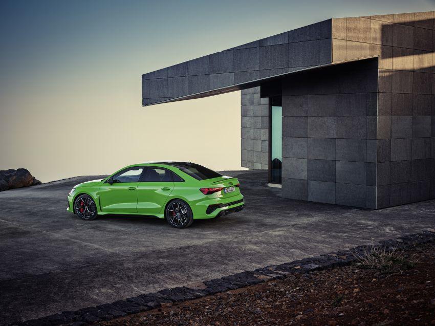 2022 Audi RS3 Sportback and RS3 Sedan debut – 400 PS/500 Nm 2.5 litre TFSI, Torque Splitter rear axle Image #1320906