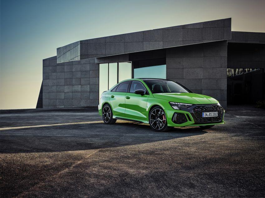 2022 Audi RS3 Sportback and RS3 Sedan debut – 400 PS/500 Nm 2.5 litre TFSI, Torque Splitter rear axle Image #1320907