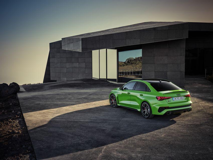 2022 Audi RS3 Sportback and RS3 Sedan debut – 400 PS/500 Nm 2.5 litre TFSI, Torque Splitter rear axle Image #1320908