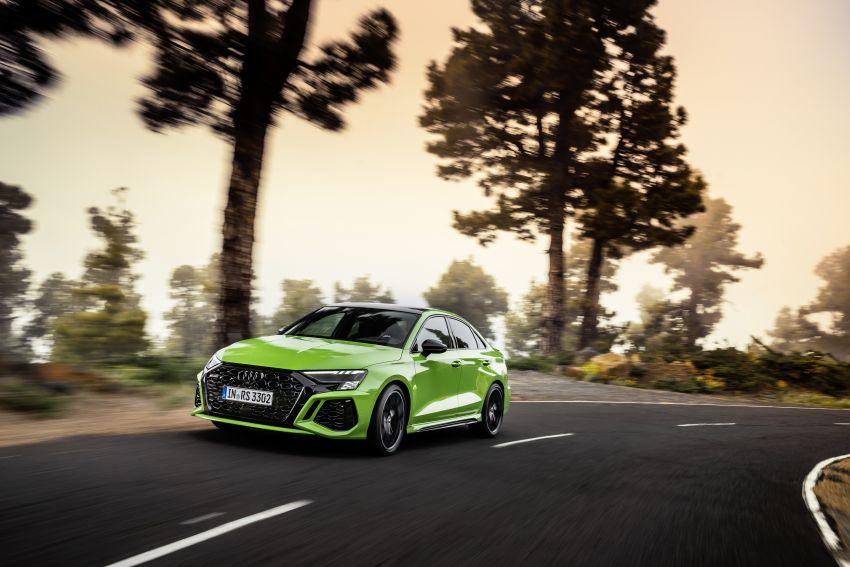 2022 Audi RS3 Sportback and RS3 Sedan debut – 400 PS/500 Nm 2.5 litre TFSI, Torque Splitter rear axle Image #1320911