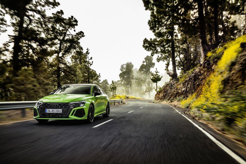 2022 Audi RS3 Sportback and RS3 Sedan debut – 400 PS/500 Nm 2.5 litre TFSI, Torque Splitter rear axle Image #1320912