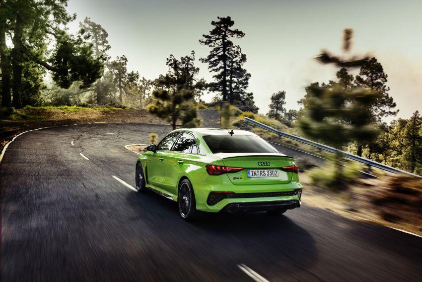 2022 Audi RS3 Sportback and RS3 Sedan debut – 400 PS/500 Nm 2.5 litre TFSI, Torque Splitter rear axle Image #1320913