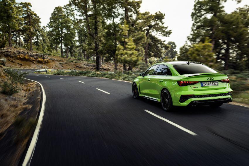 2022 Audi RS3 Sportback and RS3 Sedan debut – 400 PS/500 Nm 2.5 litre TFSI, Torque Splitter rear axle Image #1320914