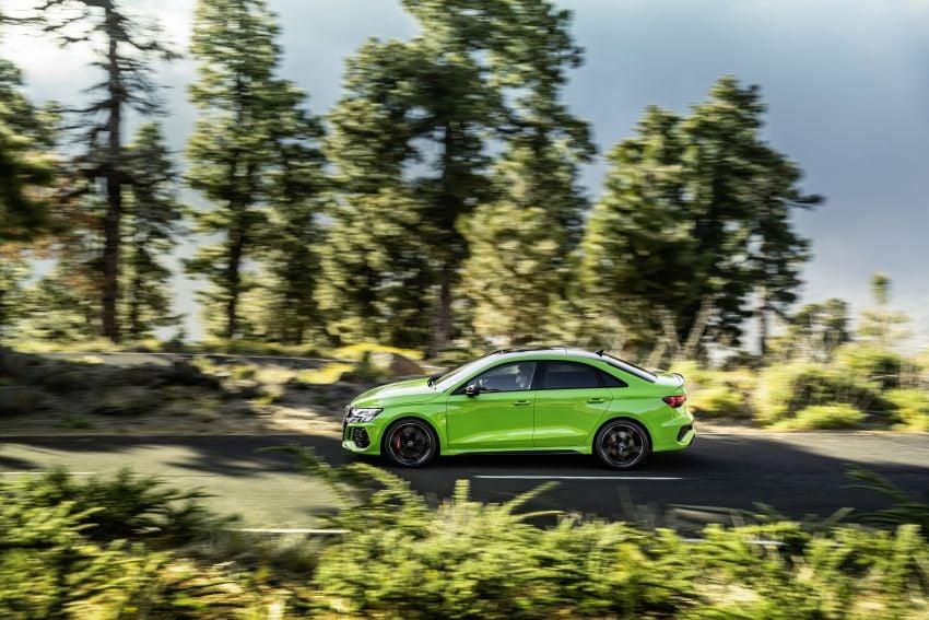 2022 Audi RS3 Sportback and RS3 Sedan debut – 400 PS/500 Nm 2.5 litre TFSI, Torque Splitter rear axle Image #1320915