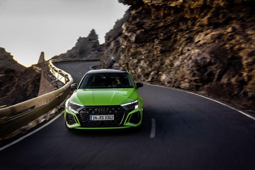 2022 Audi RS3 Sportback and RS3 Sedan debut – 400 PS/500 Nm 2.5 litre TFSI, Torque Splitter rear axle Image #1320916