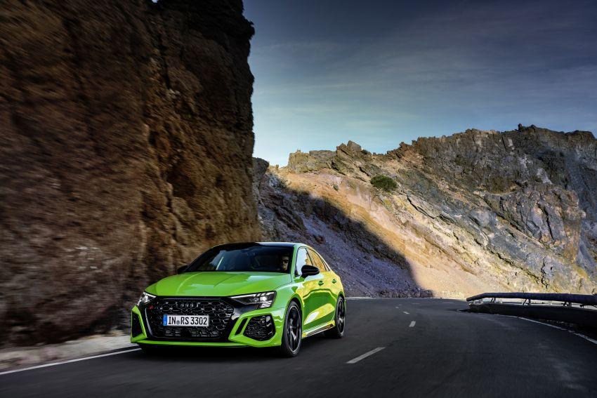 2022 Audi RS3 Sportback and RS3 Sedan debut – 400 PS/500 Nm 2.5 litre TFSI, Torque Splitter rear axle Image #1320917