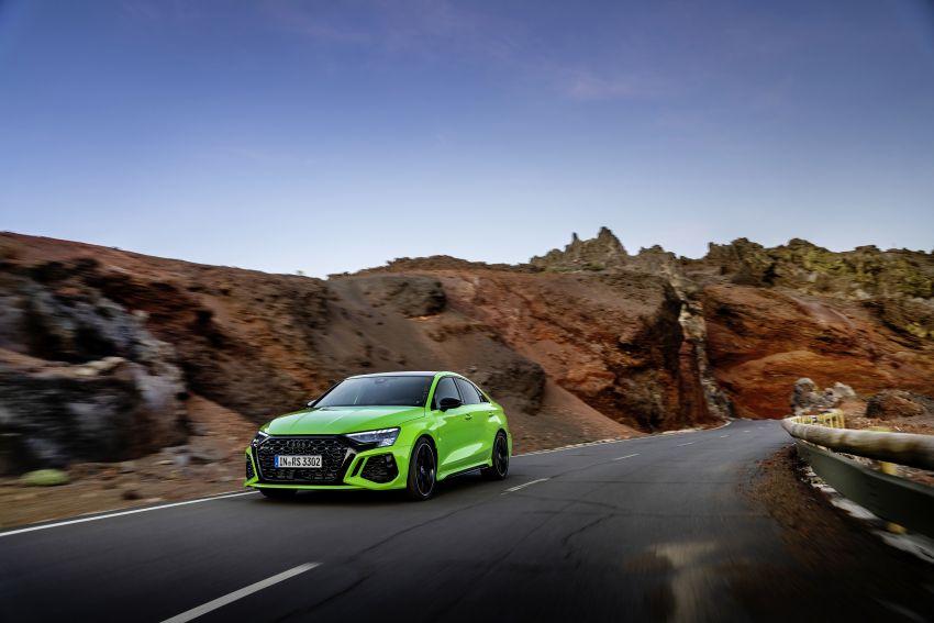 2022 Audi RS3 Sportback and RS3 Sedan debut – 400 PS/500 Nm 2.5 litre TFSI, Torque Splitter rear axle Image #1320918