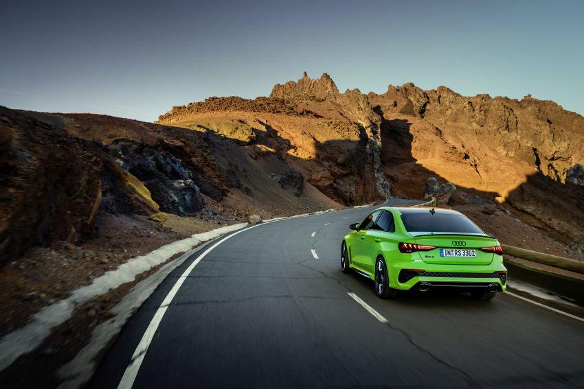 2022 Audi RS3 Sportback and RS3 Sedan debut – 400 PS/500 Nm 2.5 litre TFSI, Torque Splitter rear axle Image #1320919