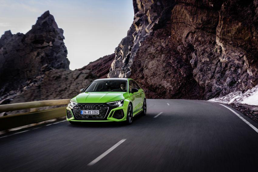 2022 Audi RS3 Sportback and RS3 Sedan debut – 400 PS/500 Nm 2.5 litre TFSI, Torque Splitter rear axle Image #1320921