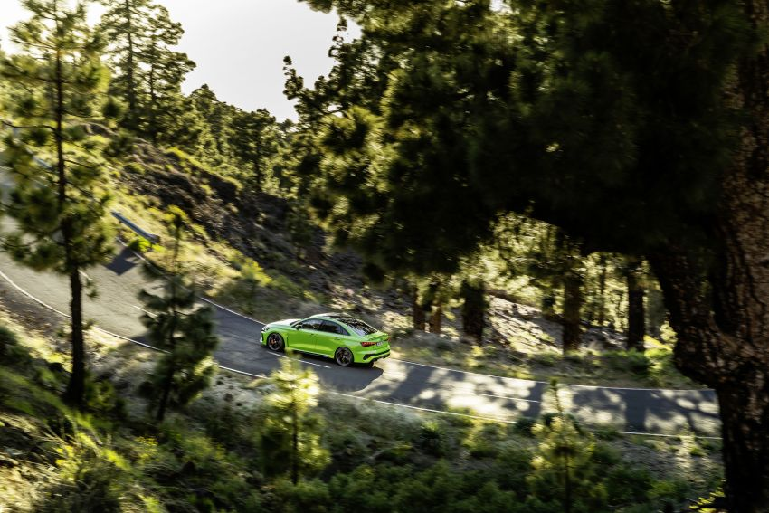 2022 Audi RS3 Sportback and RS3 Sedan debut – 400 PS/500 Nm 2.5 litre TFSI, Torque Splitter rear axle Image #1320922