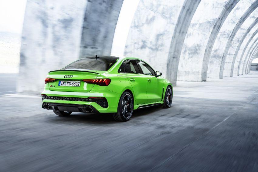 2022 Audi RS3 Sportback and RS3 Sedan debut – 400 PS/500 Nm 2.5 litre TFSI, Torque Splitter rear axle Image #1320925
