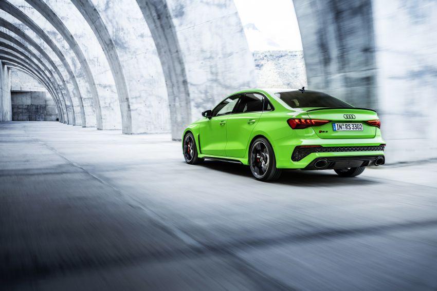 2022 Audi RS3 Sportback and RS3 Sedan debut – 400 PS/500 Nm 2.5 litre TFSI, Torque Splitter rear axle Image #1320926