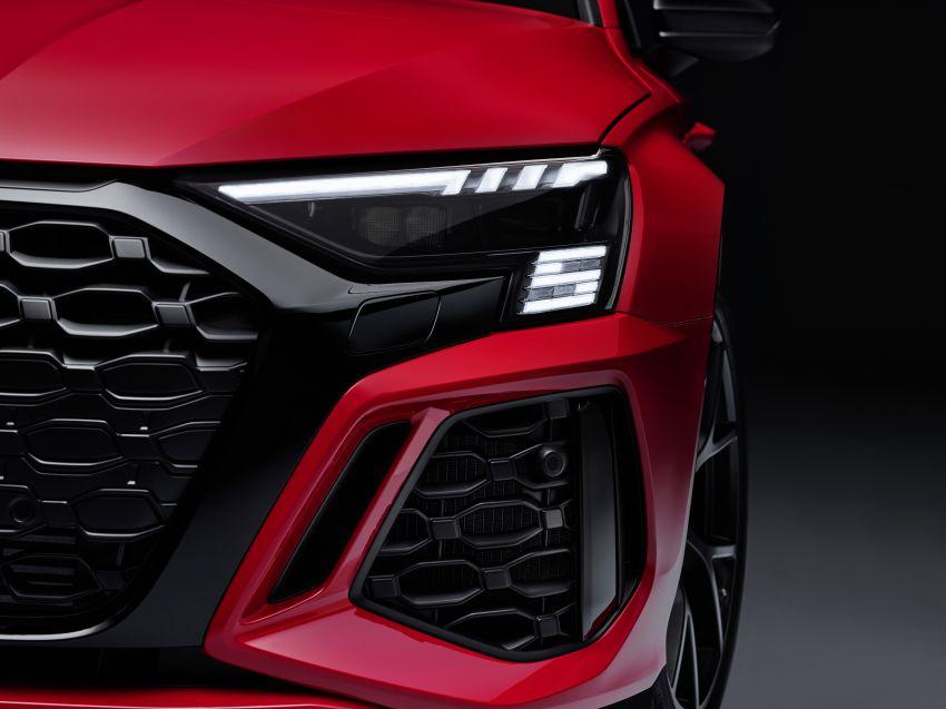 2022 Audi RS3 Sportback and RS3 Sedan debut – 400 PS/500 Nm 2.5 litre TFSI, Torque Splitter rear axle Image #1320827