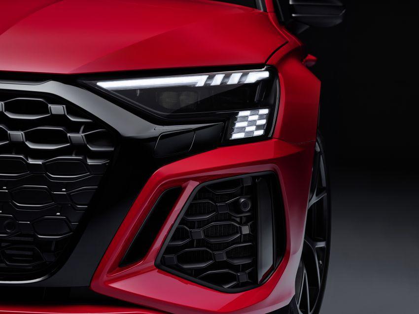 2022 Audi RS3 Sportback and RS3 Sedan debut – 400 PS/500 Nm 2.5 litre TFSI, Torque Splitter rear axle Image #1320829