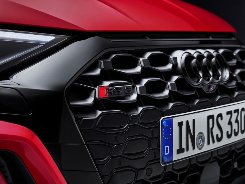 2022 Audi RS3 Sportback and RS3 Sedan debut – 400 PS/500 Nm 2.5 litre TFSI, Torque Splitter rear axle Image #1320831