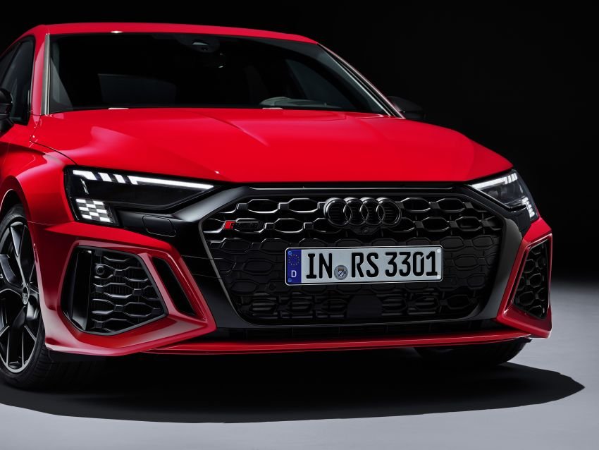 2022 Audi RS3 Sportback and RS3 Sedan debut – 400 PS/500 Nm 2.5 litre TFSI, Torque Splitter rear axle Image #1320833