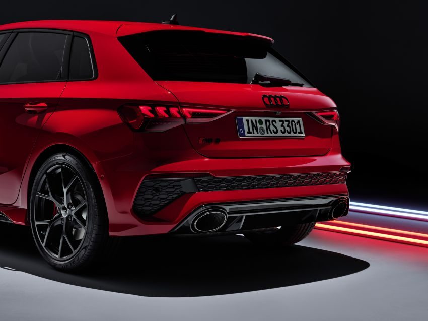 2022 Audi RS3 Sportback and RS3 Sedan debut – 400 PS/500 Nm 2.5 litre TFSI, Torque Splitter rear axle Image #1320834
