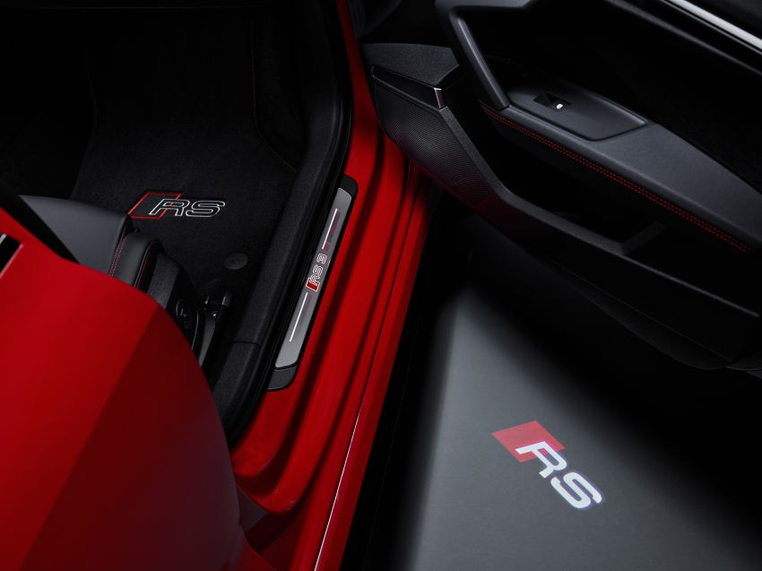 2022 Audi RS3 Sportback and RS3 Sedan debut – 400 PS/500 Nm 2.5 litre TFSI, Torque Splitter rear axle Image #1320839