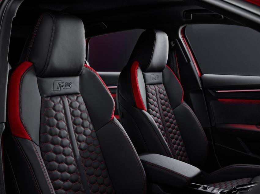2022 Audi RS3 Sportback and RS3 Sedan debut – 400 PS/500 Nm 2.5 litre TFSI, Torque Splitter rear axle Image #1320840