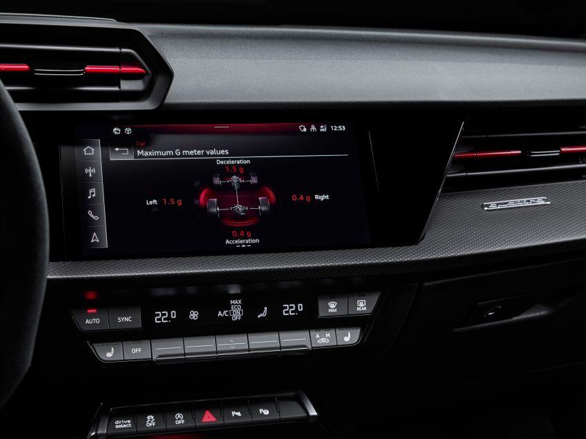 2022 Audi RS3 Sportback and RS3 Sedan debut – 400 PS/500 Nm 2.5 litre TFSI, Torque Splitter rear axle Image #1320842