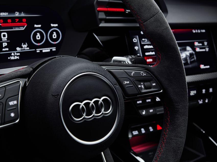 2022 Audi RS3 Sportback and RS3 Sedan debut – 400 PS/500 Nm 2.5 litre TFSI, Torque Splitter rear axle Image #1320848