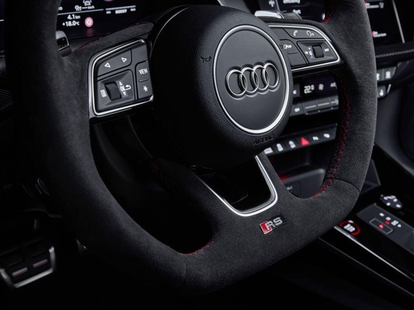 2022 Audi RS3 Sportback and RS3 Sedan debut – 400 PS/500 Nm 2.5 litre TFSI, Torque Splitter rear axle Image #1320850