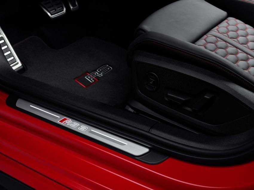 2022 Audi RS3 Sportback and RS3 Sedan debut – 400 PS/500 Nm 2.5 litre TFSI, Torque Splitter rear axle Image #1320854