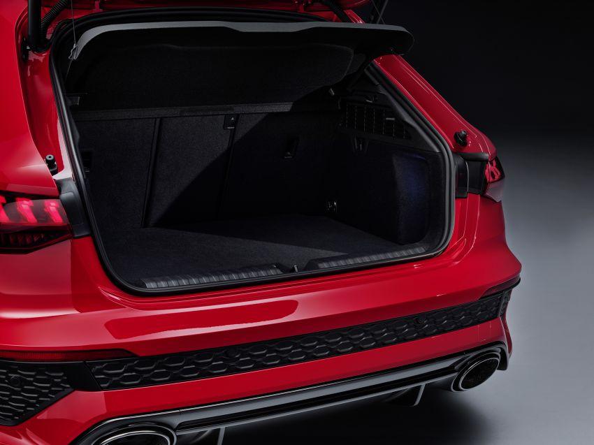 2022 Audi RS3 Sportback and RS3 Sedan debut – 400 PS/500 Nm 2.5 litre TFSI, Torque Splitter rear axle Image #1320857