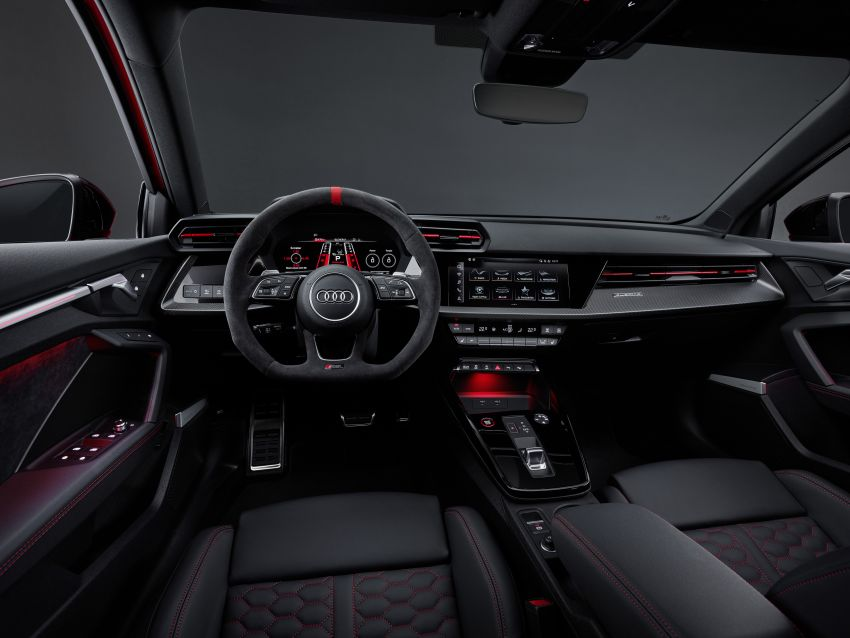 2022 Audi RS3 Sportback and RS3 Sedan debut – 400 PS/500 Nm 2.5 litre TFSI, Torque Splitter rear axle Image #1320861