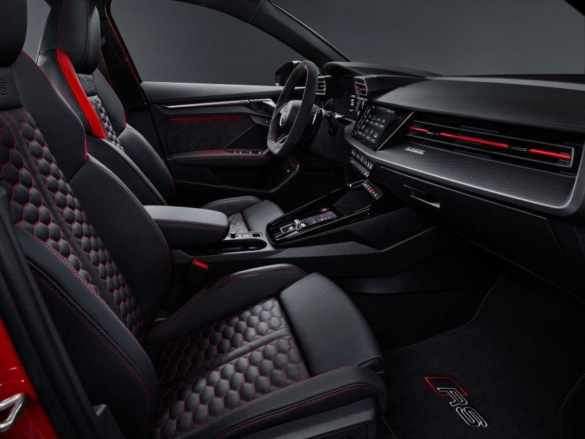 2022 Audi RS3 Sportback and RS3 Sedan debut – 400 PS/500 Nm 2.5 litre TFSI, Torque Splitter rear axle Image #1320862