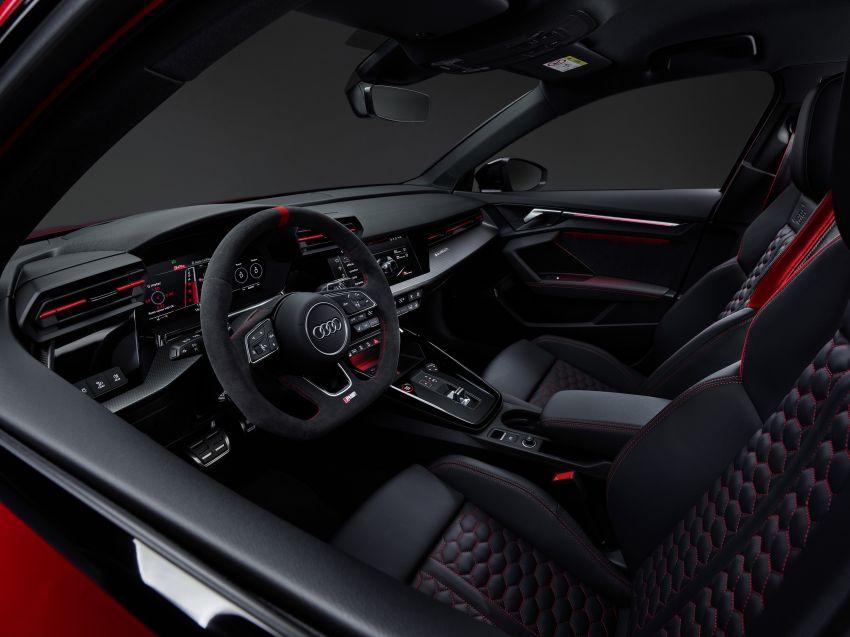 2022 Audi RS3 Sportback and RS3 Sedan debut – 400 PS/500 Nm 2.5 litre TFSI, Torque Splitter rear axle Image #1320864