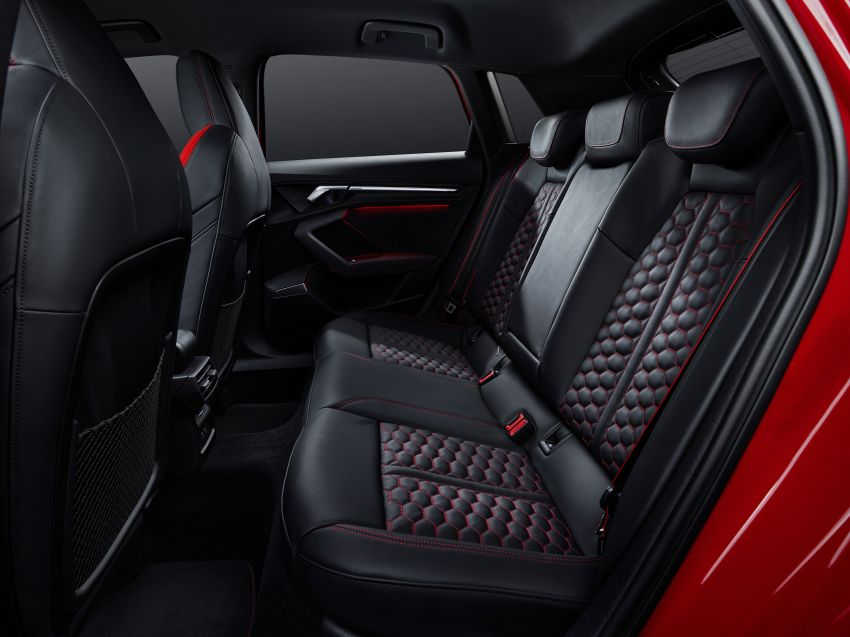 2022 Audi RS3 Sportback and RS3 Sedan debut – 400 PS/500 Nm 2.5 litre TFSI, Torque Splitter rear axle Image #1320865