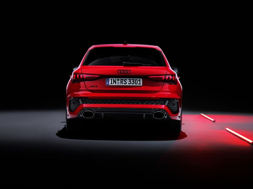 2022 Audi RS3 Sportback and RS3 Sedan debut – 400 PS/500 Nm 2.5 litre TFSI, Torque Splitter rear axle Image #1320867