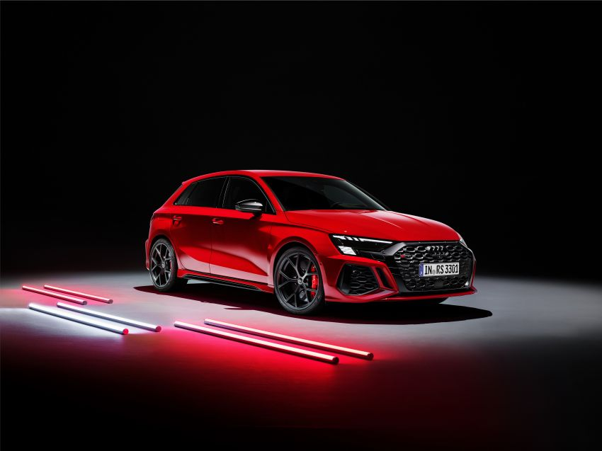 2022 Audi RS3 Sportback and RS3 Sedan debut – 400 PS/500 Nm 2.5 litre TFSI, Torque Splitter rear axle Image #1320869